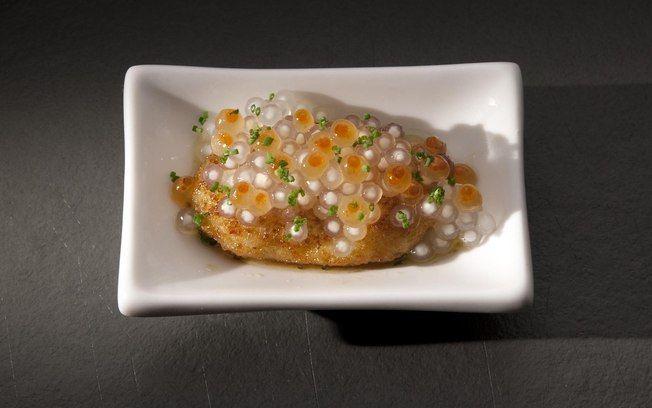 Receita de Ostras empanadas com tapioca marinada - iG