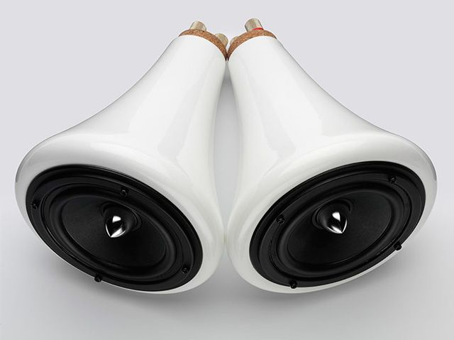 Ceramic Speakers designed by Joey Roth - simple, modern full range drivers for desktop or entire room | Joey Roth