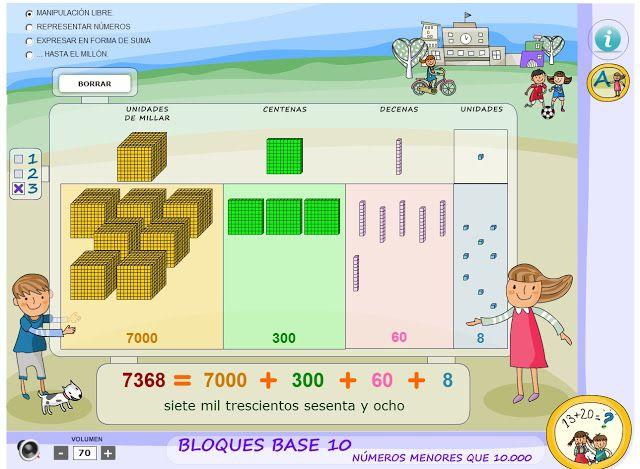 Escuela bloguera: Números de hasta 5 cifras | matematica ...