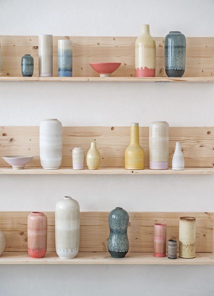 The Tortus Boutique in Copenhagen Denmark. Handmade danish ceramics from Tortus Copenhagen. / Handmade Furniture - http://amzn.to/2iwpdj4