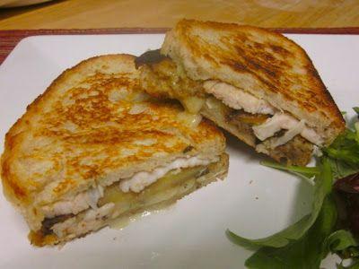 Невыразимая легкость кулинарного бытия...: Панини с индейкой и сыром бри