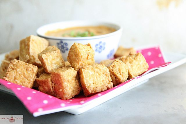 Crispy Tofu with Coconut Dipping Sauce via @Heather ChristoCalories Food, Healthy Food Recipe, Healthy Weights, Loss Recipe, Food Recipe Healthy, Loss Dishes, Healthy Recipe, Healthy Vegetarian Recipe, Weights Loss