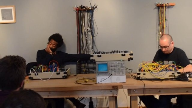 MakeNoise Modular Synthesis Workshop, Pt. 3: Modular Synthesis for Musical Purpose with Richard Devine and Robert Lowe by Walker Farrell.