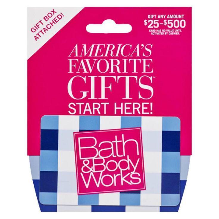Bath body works gift cards giftryapp bath and body
