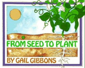 Great non-fiction picture book that makes a perfect introduction to how plants grow while acting as a provocation for kids to engage in a seed planting project.