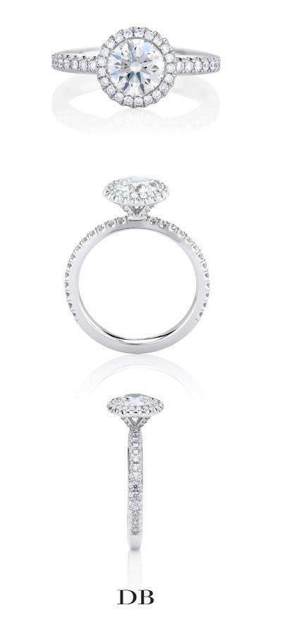 De Beers Aura Solitaire Ring