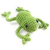 Ravelry: Crocheted Tree Frog - Amigurumi pattern by Kristi Tullus