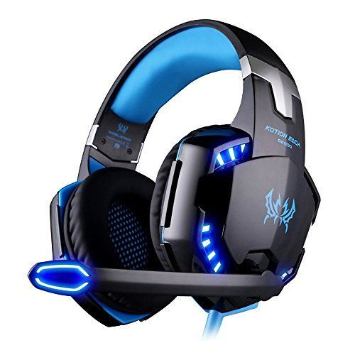 VersionTech G2000 Stereo Gaming Headset for PS4 Xbox One, Bass Over-Ear Headphones with Mic, LED Lights and Volume Control for Laptop, PC, Mac, iPad, Computer, Smartphones, Blue  https://topcellulardeals.com/product/versiontech-g2000-stereo-gaming-headset-for-ps4-xbox-one-bass-over-ear-headphones-with-mic-led-lights-and-volume-control-for-laptop-pc-mac-ipad-computer-smartphones-blue/  【UNIVERSAL COMPATIBILITY】Support PS4, NEW Xbox one, PC, Nintendo 3DS, PSP, Laptop, Compu