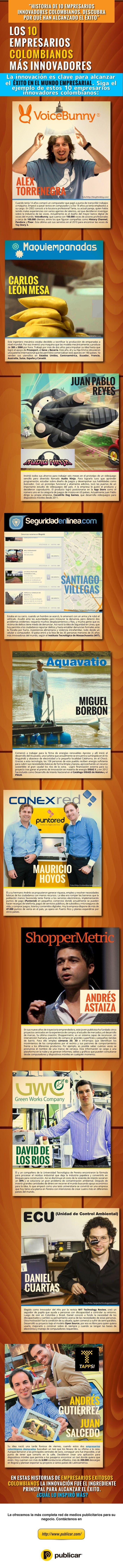 Historias de Emprendedores Colombianos Innovadores