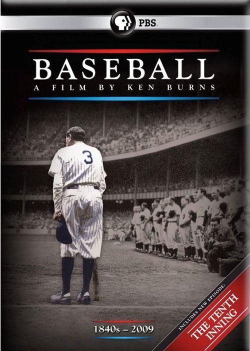 Baseball (mini-series) - Box Art for Ken Burns 'The Tenth Inning' on DVD and Blu-ray Disc.
