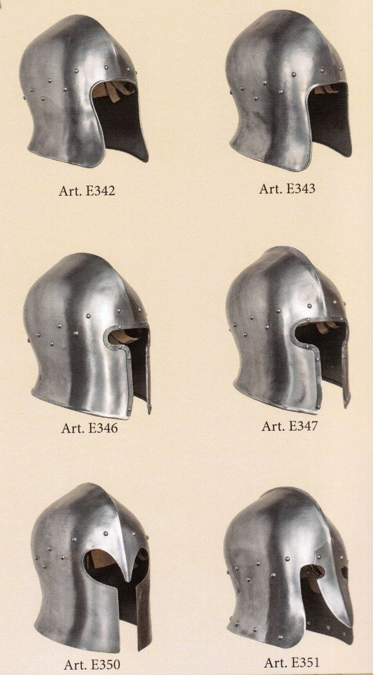 medieval helmets                                                                                                                                                                                 More
