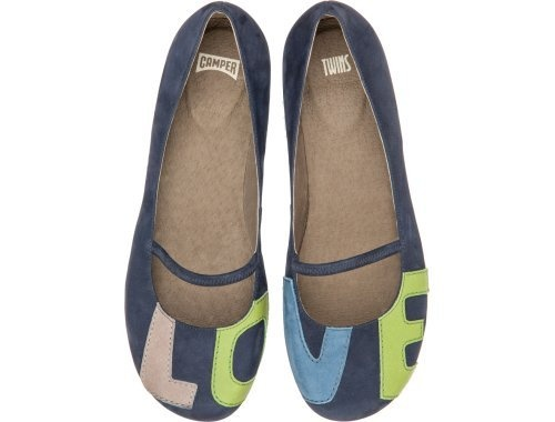 For all you Camper lovers who follow the Twins, check out this twin set!  Two unique shoes, each with their own personality that together make the perfect pair spelling love.