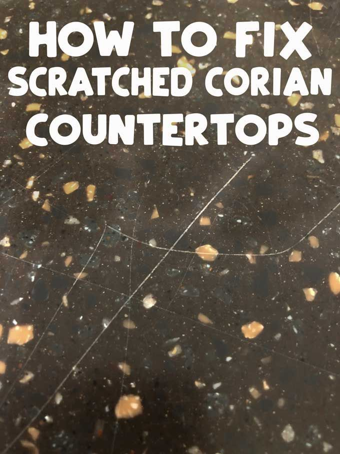 How To Fix Scratches On Corian Countertops Corian Countertops