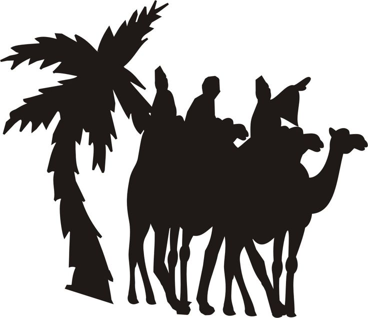 Best nativity silhouettes images on pinterest
