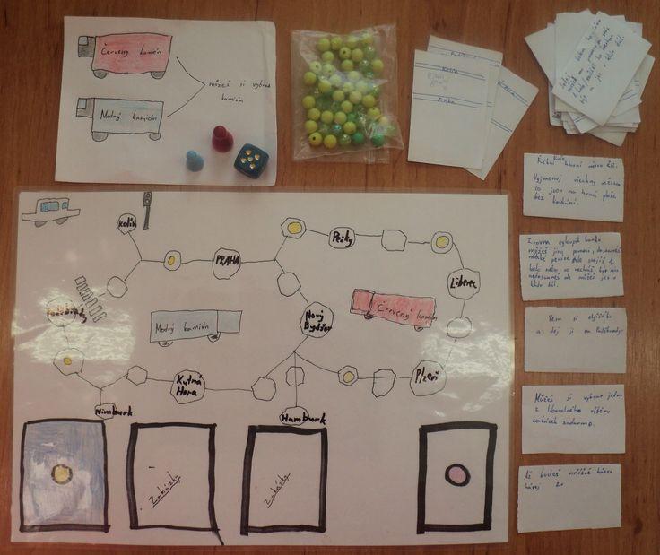 Stolní hra s dopravní tématikou (dívky 3. třída)
