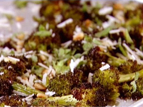 Parmesan-Roasted Broccoli Recipe : Ina Garten : Food Network