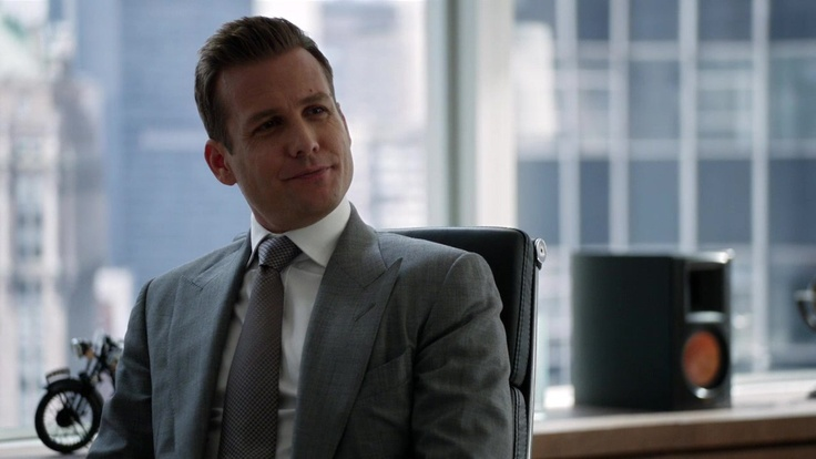 #HarveySpecter. #suits - at his desk
