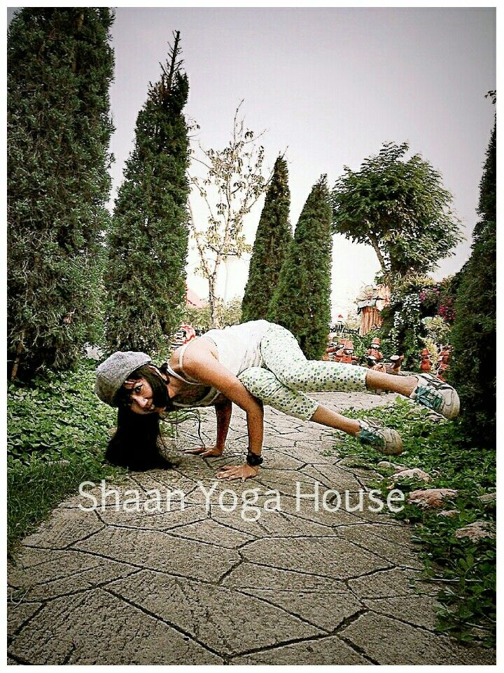 Parsva Baksana /Side Crane Pose                  ......Namaste.....