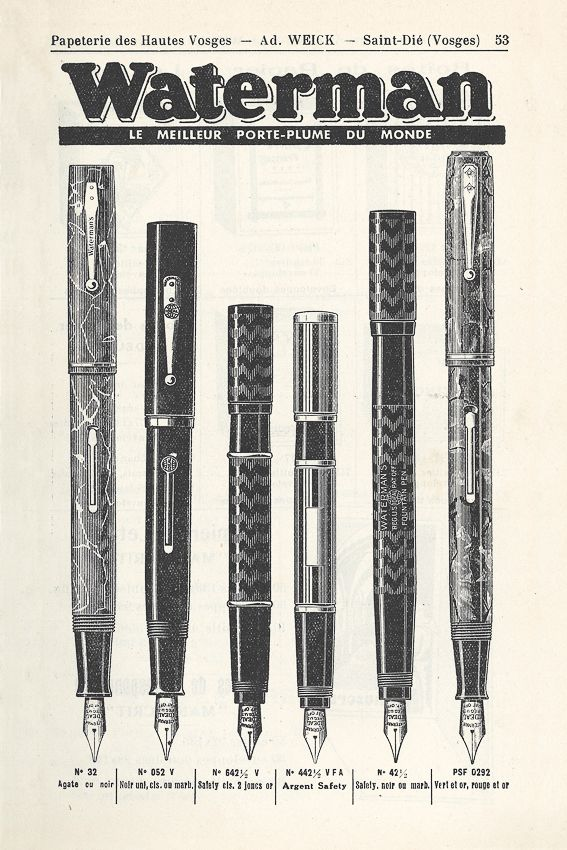 """WATERMAN - Fountain Pens:: I want a fountain pen with the words from Seamus Heaney's Digging: """"Between my finger and my thumb The squat pen rests. I'll dig with it."""""""
