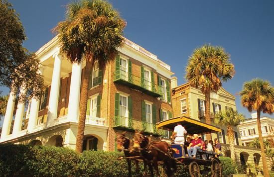 Charleston, SC - another fun trip with Leslie - back in 2009; side trip while looking at Furman University. . .