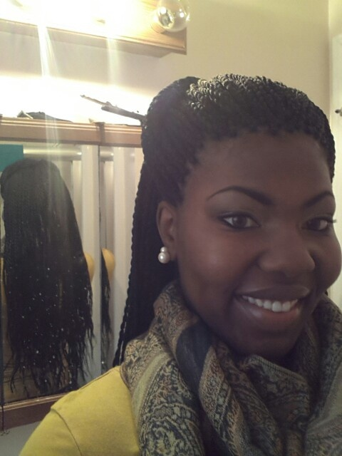 Waist Length Senegalese Twists Hair Braided