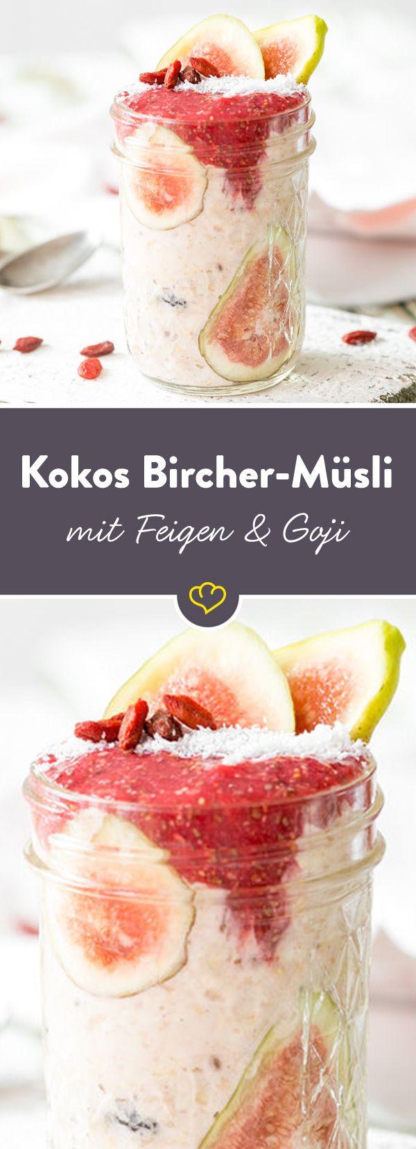 Kokosmilch aus der Karibik, Goji Beeren aus China und das Rezept aus der Schweiz - in einer Schale das Beste vereint. Multi-Kulti-Müsli zum Frühstück.