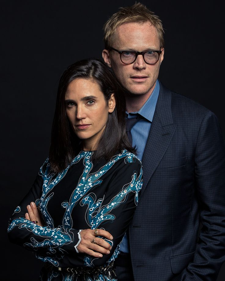 Jennifer Connelly and Paul Bettany for Vanity Fair (Sept 2014) *