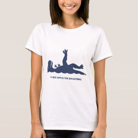 T-Rex Backstroke T-Shirt - click to get yours right now!