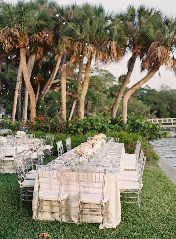 Modern Southern Outdoor Wedding