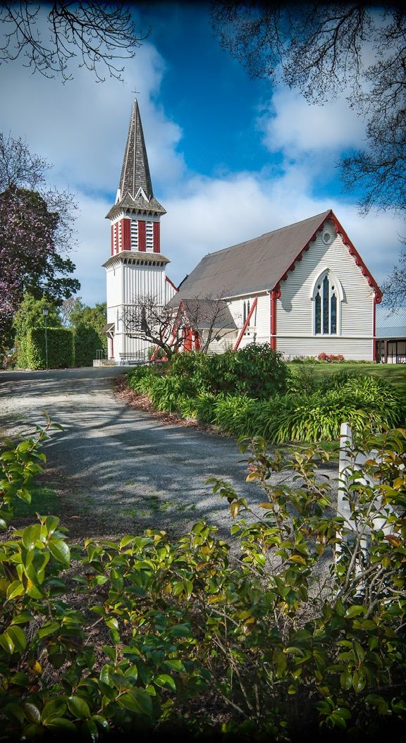 Pretty church - Amberley is a town located in the Hurunui District of north Canterbury, on the east coast of the South Island of New Zealand