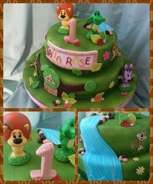Ra Ra the Noisy Lion. — Birthday Cake Photos