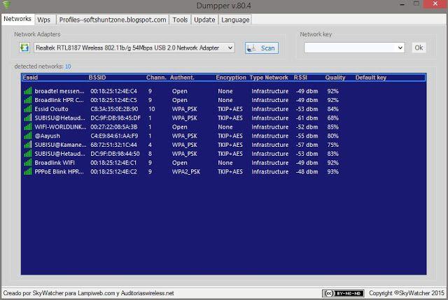 JumpStart Dumpper v80.4 Download - Dumpper wifi hacker free download