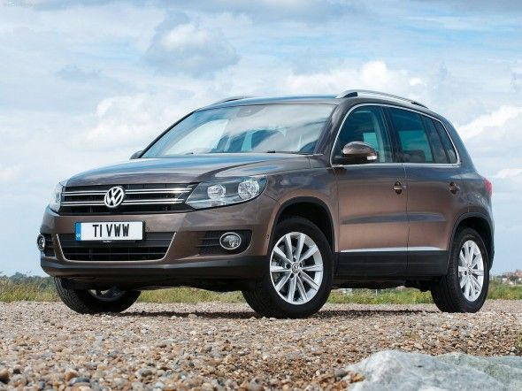 Volkswagon Tiguan - This could be my next vehicle....not sure which color though