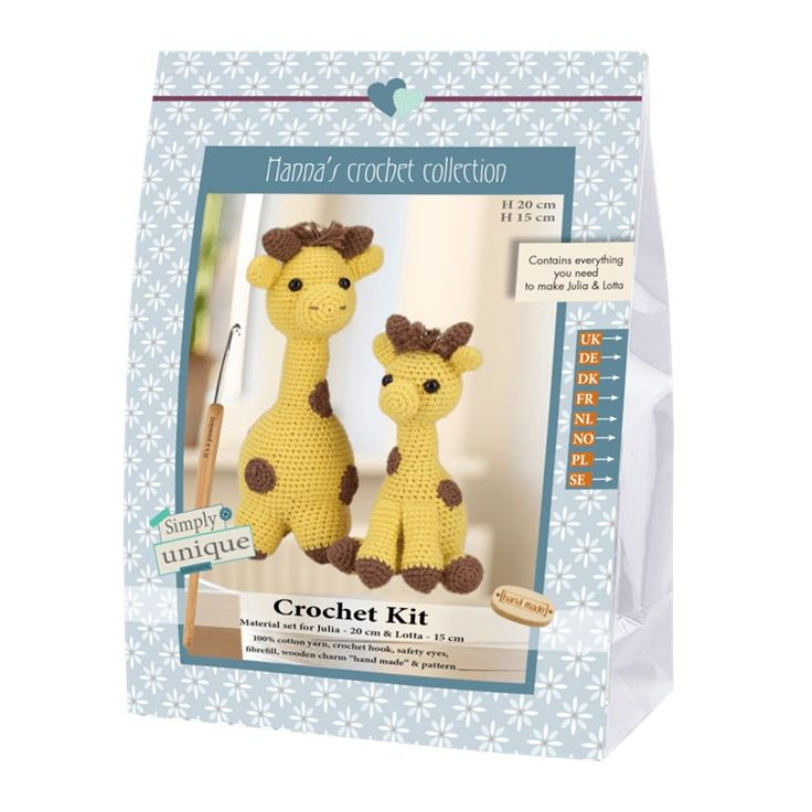 Julia and Lotto The Giraffes - Emily & Friends Collection