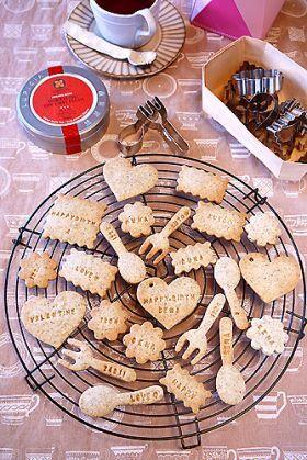 「【バレンタイン】サクッサク紅茶クッキー」ぱお | お菓子・パンのレシピや作り方【corecle*コレクル】