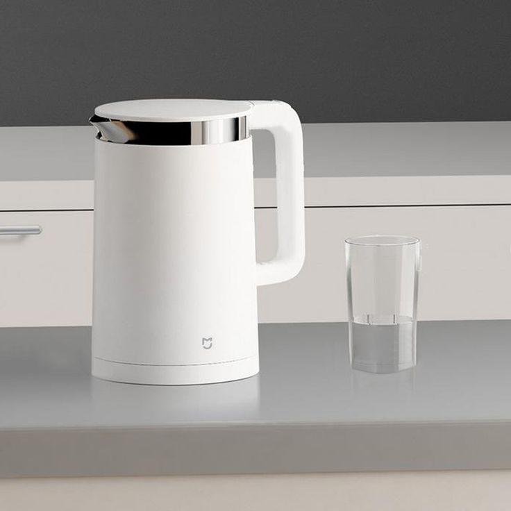 Mi 1.5l caldera de agua eléctrica 304 acero inoxidable 12hrs tiempo de control de temperatura Xiaomi original