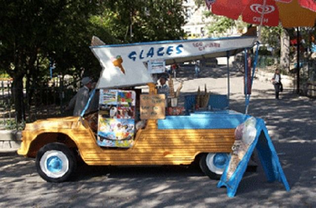 Mehari consession stand/ice cream vender
