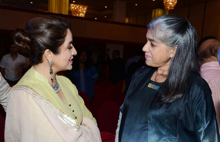 Tisca Chopra and Ratna Pathak Shah at the release of Film Heritage Foundation's book, Yesterday's Fiilms For Tomorrow, written by PK Nair