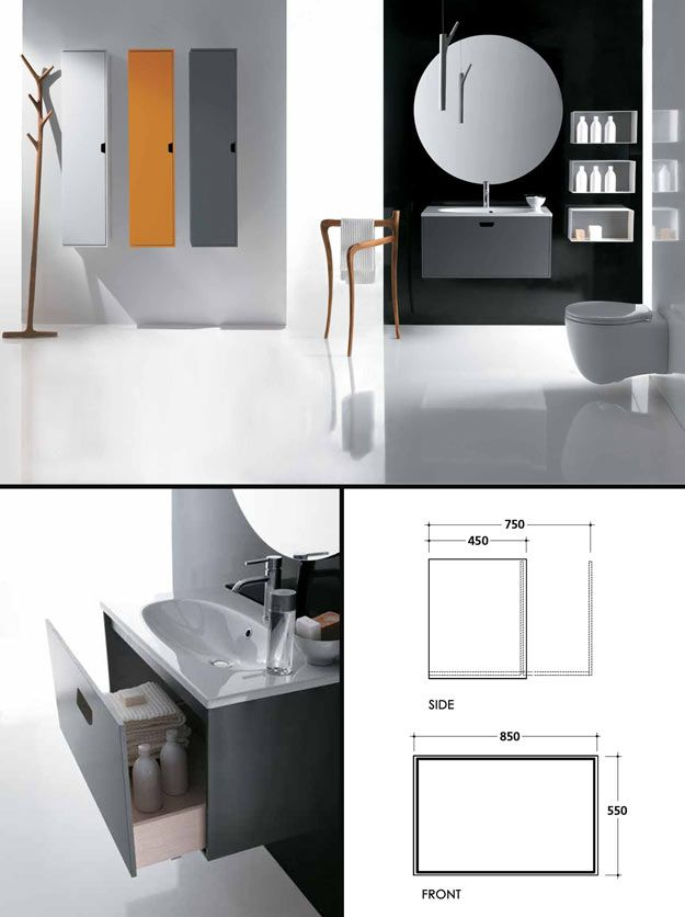 Contemporary Art Websites Contemporary style toilet and vanity unit creating a modern classic bathroom The unit is plete with an integrated basin