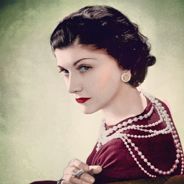 Coco Chanel, icon of French Style. See more French Style: http://www.assouline.com/french-style.html
