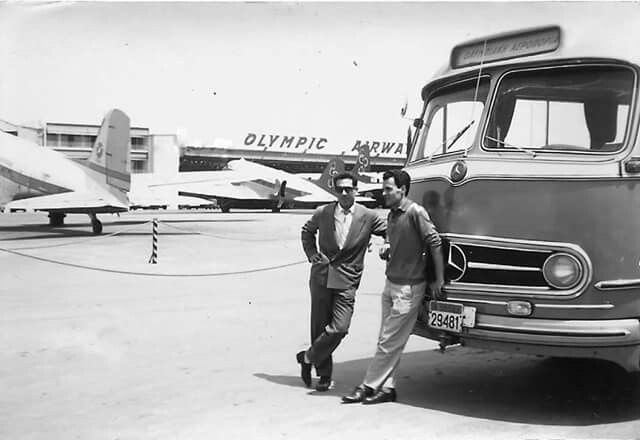 66 years before Airport Elliniko Greece Olympic airways