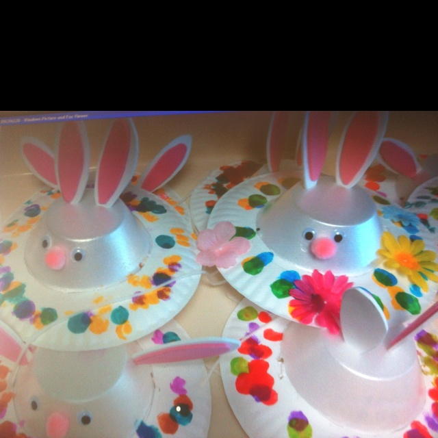 Easy To Make Easter Bunny Hats Easter Hat Ideas