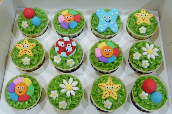 2d in the night garden cake - Google Search