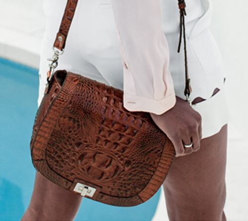 Favorite Bag of the Moment: The 'Sonny' Saddle Bag by Brahmin Handbags