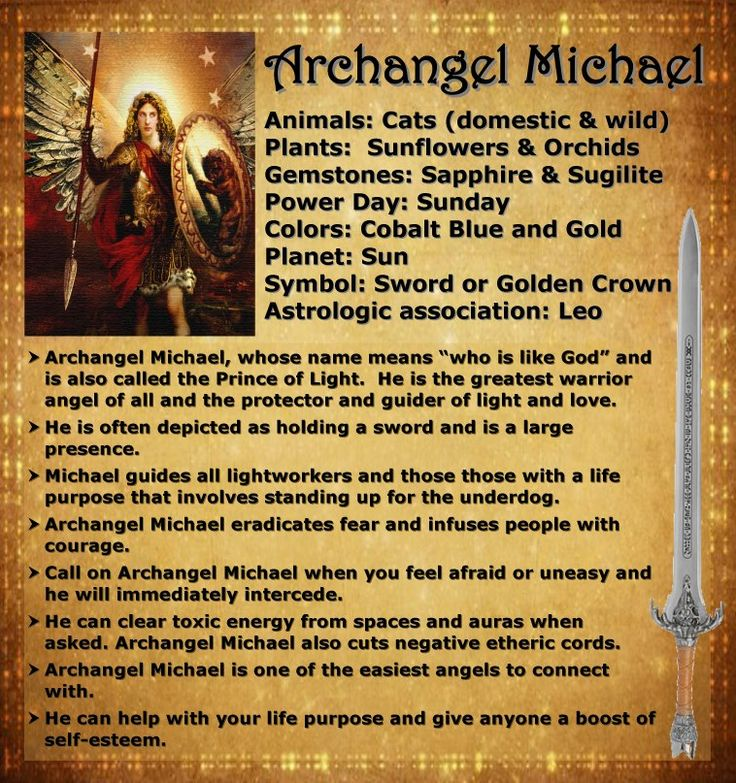 archangel Michael please protect me                                                                                                                                                      More