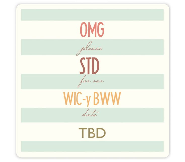 WTF is an STD: Offbeat Bride's glossary to wedding words and acronyms