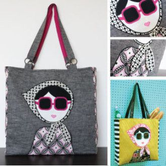 The Laura Tote | YouCanMakeThis.com