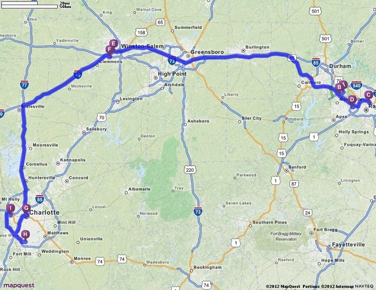 Driving Directions from Raleigh-Durham International Airport (RDU) in Morrisville, North Carolina 27560 to Charlotte/Douglas International Airport (CLT) in Charlotte, North Carolina 28208 | MapQuest