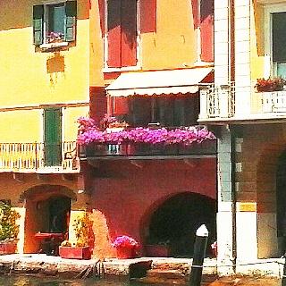 Gargnano. Lago de Garda .Italia