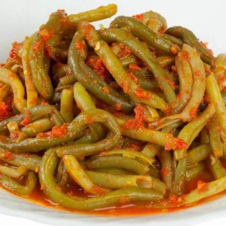 Zöldbab olaszosan